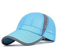 ZumZup キャップ 帽子 夏 メッシュキャップ 通気性抜群 メンズ レディース 野球帽 日除け UVカット 紫外線対策 調節可能 運動 登山 釣り ゴルフ 運転 アウトドア 男女兼用 全8色