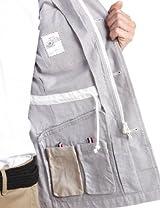 Oxford Type M-65 Jacket 51-18-0117-012: Light Grey