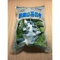 鈴鹿山系純氷-中粒5cm前後、コンビニサイズ(クラッシュド・アイス)-1.1kg7袋