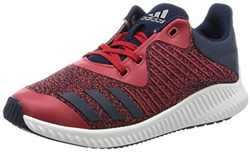 [アディダス]運動靴 KIDS FortaRun K スカーレット/カレッジネイビー/シルバーメット...