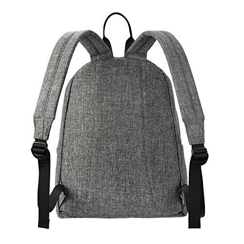 MIXI(ミシ)双肩バッグ 中学生 高校生 通学 旅行 ファッション 多機能 PCバッグ 防水 男女兼用 (L, グレイ)