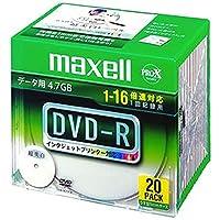 ==まとめ== マクセル・データ用DVD-R・4.7GBワイドプリンタブル・5mmスリムケース・DR47WPD.S1P20S・A・1パック-20枚-・-×3セット-