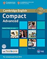 Compact Advanced Student's Book with Answers with CD-ROM with Testbank by Peter May(2015-11-11)
