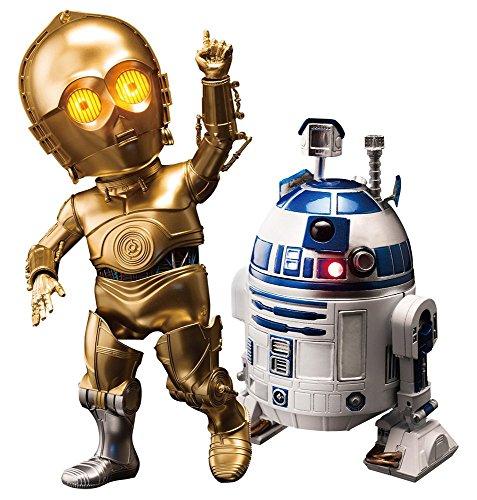 エッグアタック・アクション スター・ウォーズ エピソード5/帝国の逆襲 #012 C-3PO&R2-D2 高さ約10~16センチ プラスチック製 塗装済み可動フィギュアセット