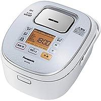 パナソニック 5.5合 炊飯器 IH式 大火力おどり炊き スノーホワイト SR-HX106-W