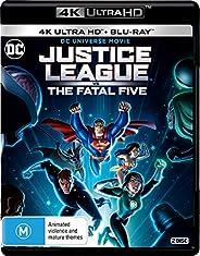 Justice League: Fatal Five (4K Ultra HD + Blu-ray)