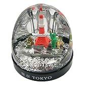 日本のお土産 スノードーム 東京 ペン立てタイプ 【SnowDome/Tokyo】
