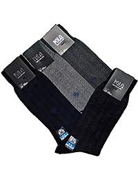 グンゼ 【POLO/ポロ】 ビジネスソックス 4足セット 表糸綿100% 消臭加工 PBJ005