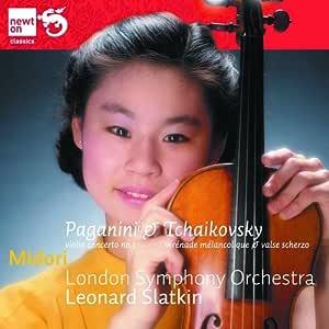 パガニーニ:ヴァイオリン協奏曲 第1番/チャイコフスキー:感傷的なセレナーデ 他