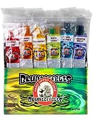 Blunteffects プレミアムハンドディップインセンス 12種類の香り 各12本 11インチスティック144本 300g 1スティック45分以上