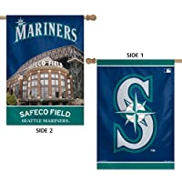 (Seattle Mariners) - MLB 2 Sided Vertical Flag