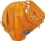 ZETT(ゼット) 硬式野球 ネオステイタス キャッチャーミット オレンジB(5600B) 右投げ用 日本製 BPCB12922