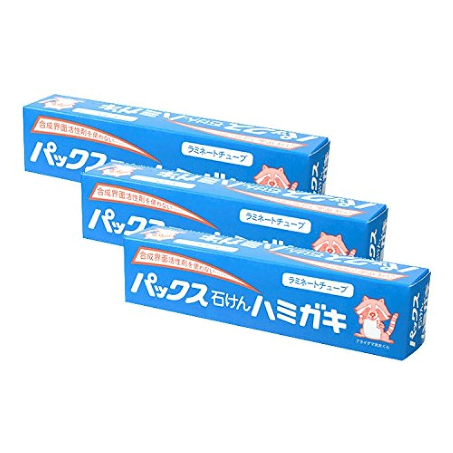 シェーバーさわやかのため【まとめ買い】パックス石けんハミガキ 140g×3
