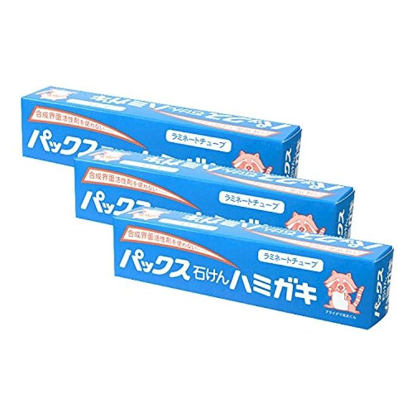 コンプリート恵み精巧な【まとめ買い】パックス石けんハミガキ 140g×3