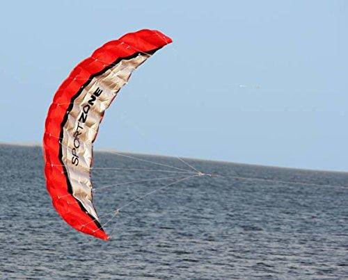 パラプレーン自作や強風時の暇つぶしに2.5Mスパンのパラフォイル