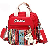 Guangqiバッグバックパック多機能防水旅行Stroller Organizer Nappy Changing Padマザーズバッグ 9.84*6.3*9.84in 68