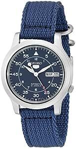 [セイコーインポート] SEIKO import 腕時計 海外モデル SNK807K2 ネイビー メンズ [逆輸入]