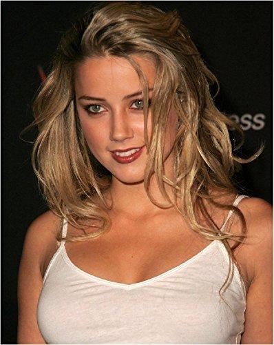 Amber Heard 8x 10フォト–No。イメージが切り抜かれNoホワイトまたはブラックBorders、wysiwis # ah058