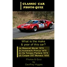 50 Classic Cars - A Photo Quiz (Car Photo Quiz Book 2)