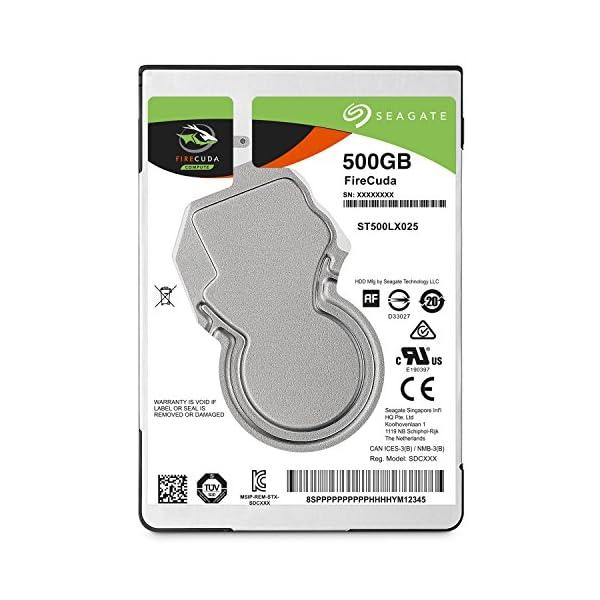 Seagate FireCuda 500GB【5...の商品画像
