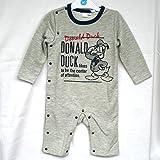 (ディズニー) Disney ディズニーベビー子供服 ドナルドダック プレオール サイズ:80(グレー)
