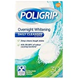 [Poligrip] 毎日のクレンザーは30PkホワイトニングPoligrip - Poligrip Whitening Daily Cleansers 30pk [並行輸入品]