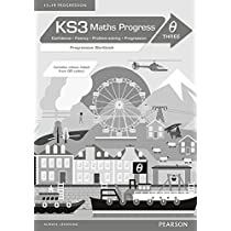 KS3 Maths Progress Progression Workbook Theta 3