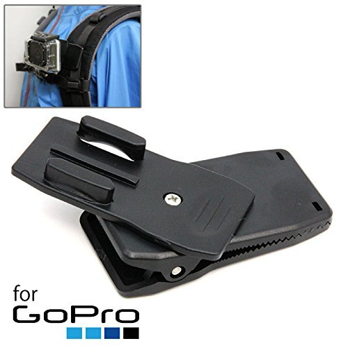 ネクストゼロワン GOPR13626 GoPro/SJ4000用 360度回転 クイックリリース クリップマウント
