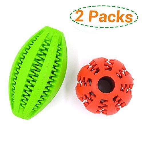 FIRIK(フィリク)犬用 噛むおもちゃ 歯磨きボール 噛むボール ラバー製 餌入れ おやつボール噛む玩具 知育玩具