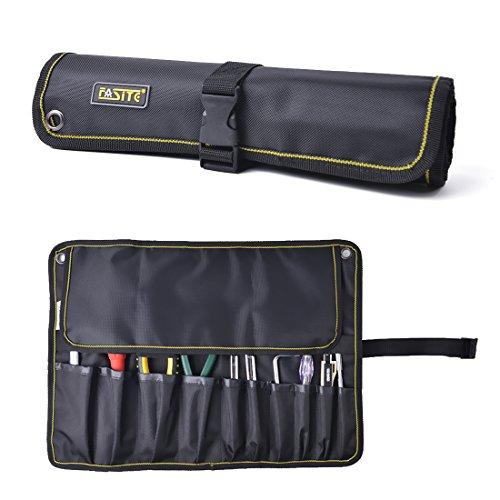 FASITE ツールバッグ 工具差し 技術者用 作業工具 ポーチ 工具袋 ベルト付き