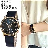 マークバイ マークジェイコブス MARC BY MARC JACOBS 【MBM1329】 ベイカー 時計 腕時計 メンズ レディース ユニセックス ネイビー ピンクゴールド [並行輸入品]
