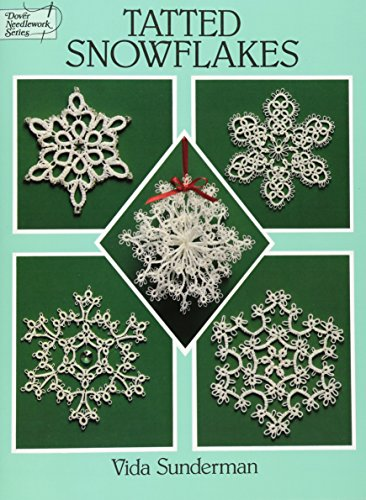 Tatted Snowflakes (Dover Knitting, Crochet, Tatting, Lace)の詳細を見る