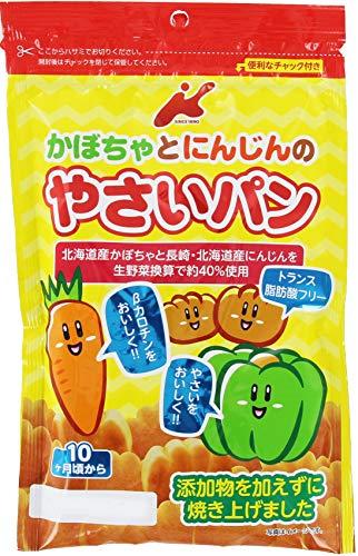 カネ増製菓 かぼちゃとにんじんのやさいパン 45g ×12袋