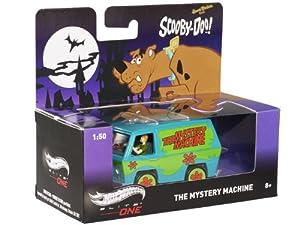 Hot Wheels (ホットウィール) Scooby Doo Mystery Machine w/ Mini Figures 1/50 HWBCJ81 ミニカー ダイキャスト 自動車 (並行輸入)