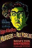 殺人事件in the Rue Morgueポスター27?x 40?Bela Lugosi Sidney (シドニー) Fox Leon Ames Unframed 258466