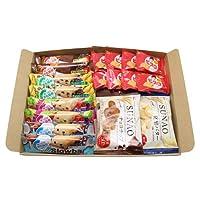 グリコ・ブルボン からだにやさしい栄養補給お菓子食べ比べ(3種・全18コ)セット D