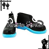 ●●サイズ選択可●●女性23.5CM MJR1447 コスプレ靴 ブーツ 超次元ゲイム ネプテューヌ ユニ Uni