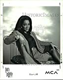 1991押しフォトパティ・ラベルAmerican R &B Soul Singer Songwriterと女優