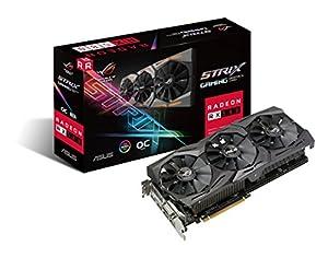 ASUS Strixシリーズ AMD Radeon RX580搭載ビデオカード  ROG-STRIX-RX580-O8G-GAMING