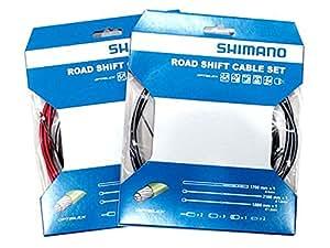 SHIMANO(シマノ) Y60198080 オプティスリックシフトケーブルセット イエロー Y60198080