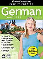 2014 Edition - Instant Immersion German Levels 123 [並行輸入品]