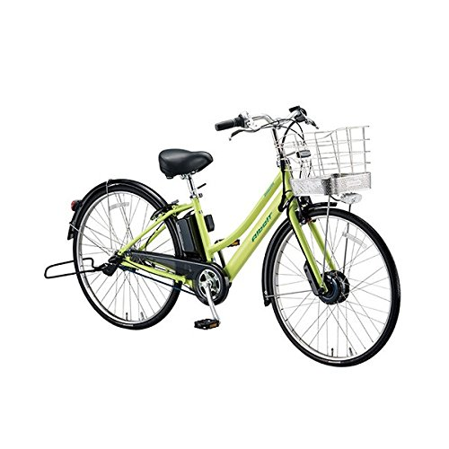 ブリヂストン(BRIDGESTONE) アルベルト e L型 AL7B48 T.ネオンライム 27インチ 電動自転車