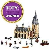 (Standard) - LEGO 75954 Harry Potter Hogwarts Great Hall Building Kit - 878 Pieces