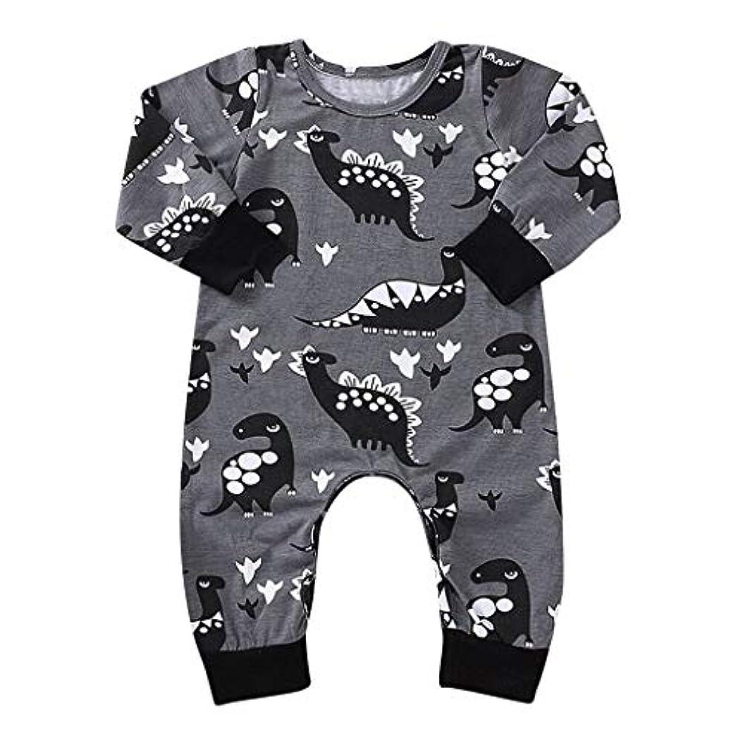 面白い文明化壁紙MISFIY 子供 新生児 赤ちゃん 男の子 ロンパース パジャマ 綿 かわいい 出産祝い コスチューム 寝相アート 仮装 部屋着 (80)