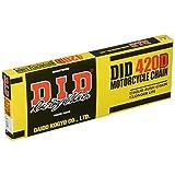 D.I.D(大同工業)バイク用チェーン クリップジョイント付属 420D-128RB STEEL(スチール) 二輪 オートバイ用