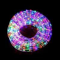 イルミネーション 防滴 20M 720球 LEDチューブライト (全5色) (ミックス)