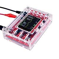 Quimat オシロスコープ 日本語マニュアル 保護ケースキット DSO138 1Msps SMD(完全に組立) プローブ付