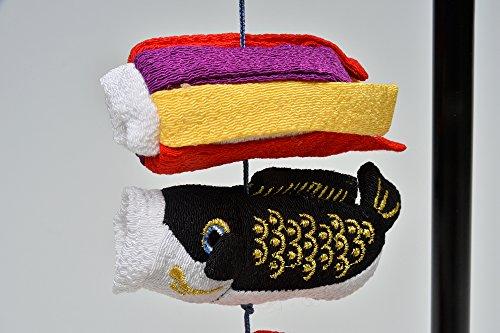 室内鯉のぼり まめ鯉 スタンド付つるし飾り 初節句 端午の節句 五月人形