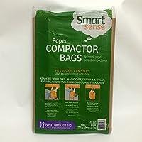 Smart Sense 12 Paper Compactor Bags by Smart Sense