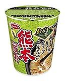 エースコック タテ型 飲み干す一杯 熊本黒マー油豚骨ラーメン 71g×12個